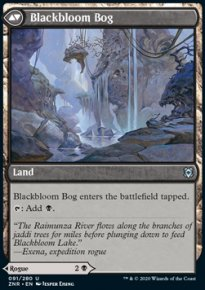 Blackbloom Bog - Zendikar Rising