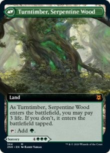 Turntimber, Serpentine Wood - Zendikar Rising