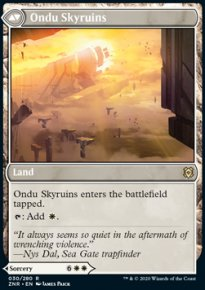 Ondu Skyruins - Zendikar Rising