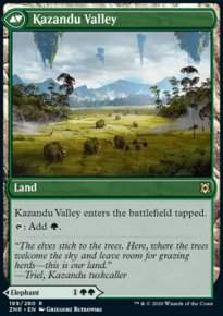 Kazandu Valley - Zendikar Rising