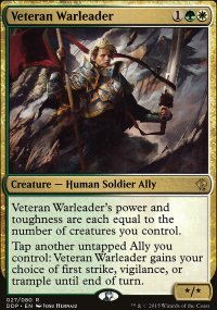 Veteran Warleader - Zendikar vs. Eldrazi