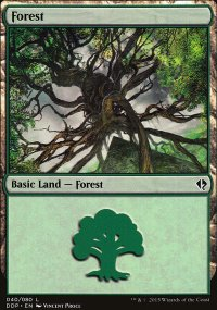 Forest 3 - Zendikar vs. Eldrazi