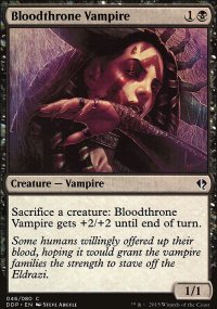 Bloodthrone Vampire - Zendikar vs. Eldrazi