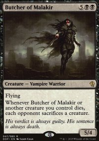 Butcher of Malakir - Zendikar vs. Eldrazi